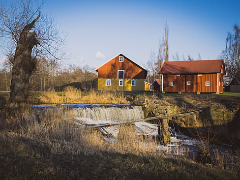 Swedish old mill