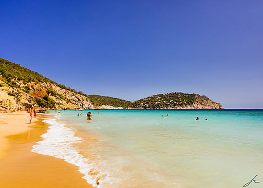 Aguas Blancas beach in Ibiza
