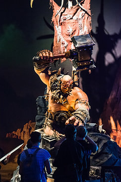 Gamescom 2015 - Warcraft the movie orc model