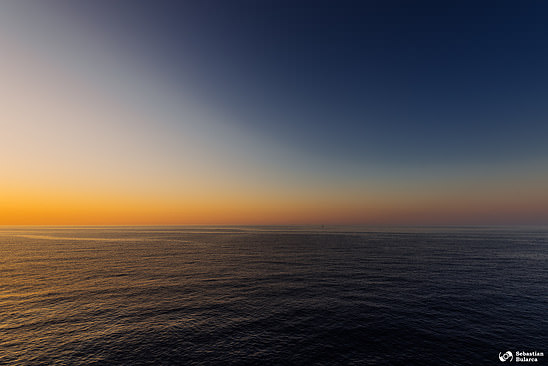 Sunrise on Mediterranean