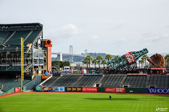 AT&T Park and Oregon bridge