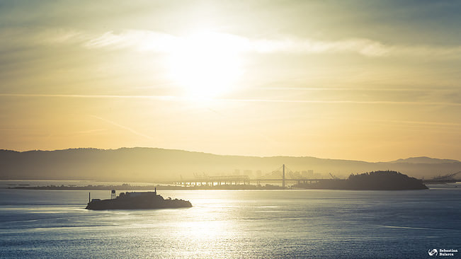 View over Alcatraz