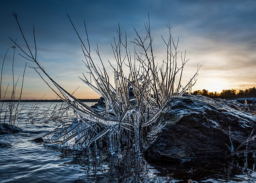 Ice shapes on Vänern